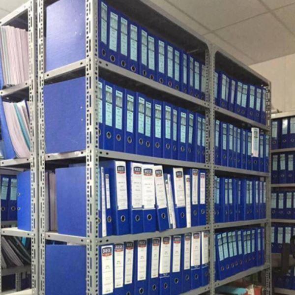 Kệ sắt v lỗ lưu trữ hồ sơ, tài liệu